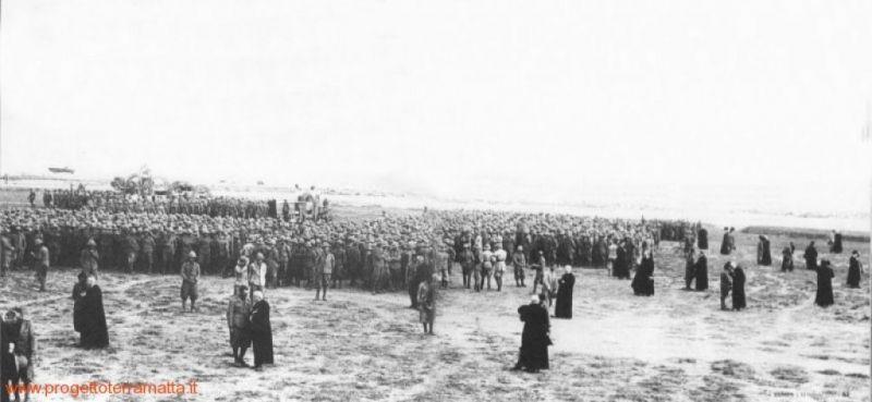 Confessione dei soldati, Libia, 1937 (Archivio Giovanni Ottaviano)