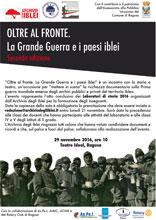 OLTRE AL FRONTE. La Grande Guerra e i paesi iblei – Seconda edizione