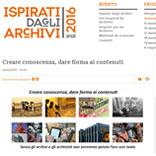 Cliomedia aderisce a Ispirati dagli Archivi 2016